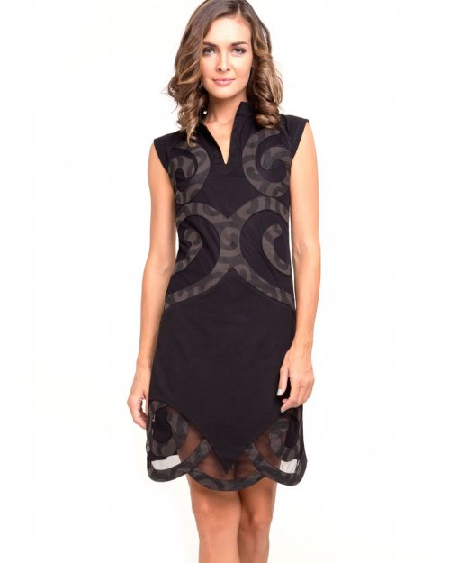 Pygmees Dress Spirale Black