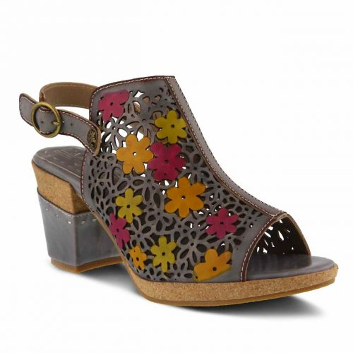 L'Artiste by Spring Step Sandals Pricilla Grey