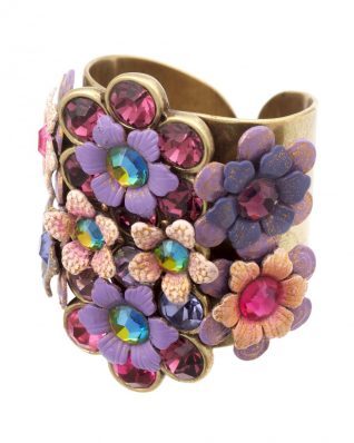 Michal Negrin Large Floral Ring