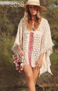 Savage Culture Crochet Poncho