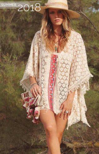 Savage Culture Crochet Poncho