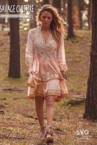 Savage Harmonya Culture Pink Dress