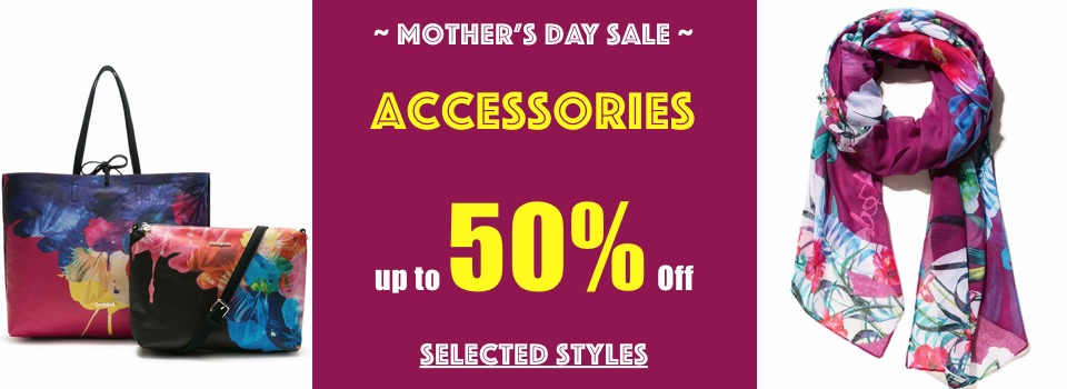 Accessories up to 50 off