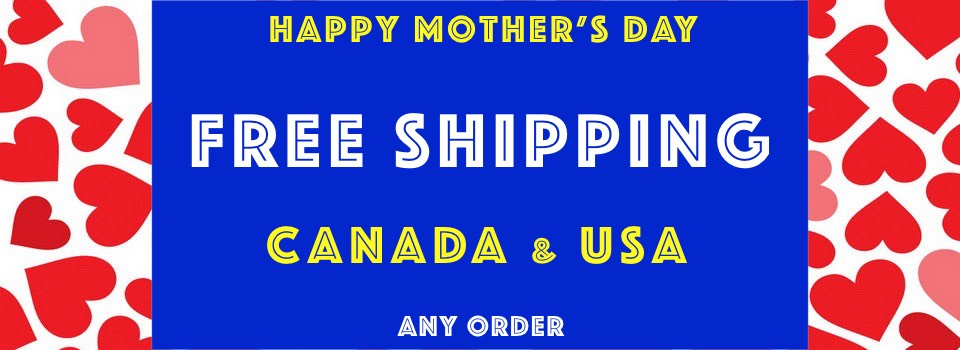 Free Shipping Mothers Day SS18