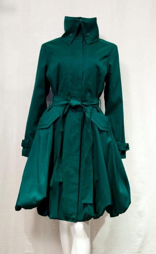 Samuel Dong Bubble Coat 11664 Emerald Green | Buy Online ...
