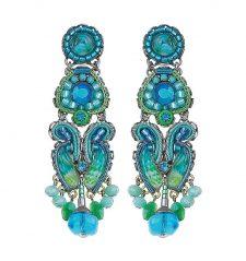 Ayala Bar Large Blue Earring