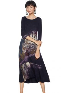 Desigual Midi Dress Soul