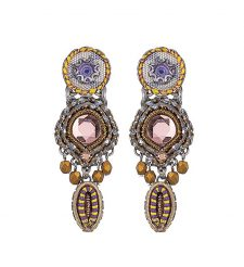 Ayala Bar Hip Purple Rain Earrings