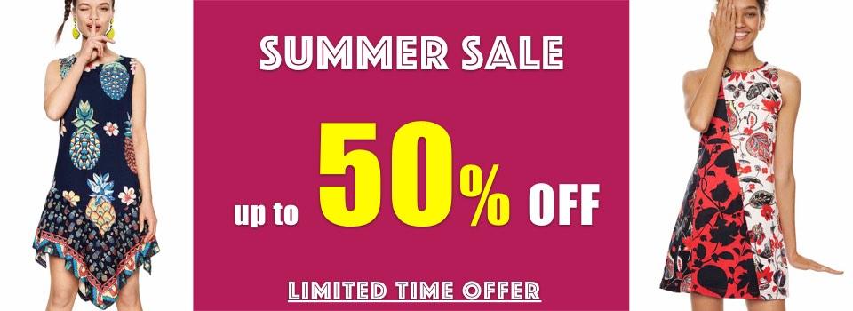 Desigual Summer Sale SS18