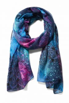 Desigual Spray Dots Scarf