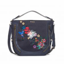 Desigual Navy Marteta with Embroidery