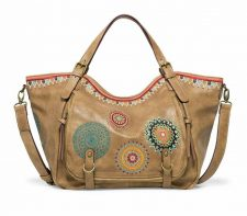 Desigual Rotterdam with Mandalas Embroidery