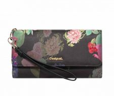 Desigual Large Wallet in Floral Design