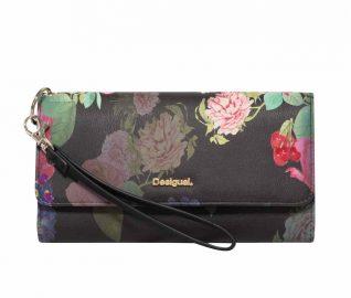 Desigual Large Wallet in Floral Design