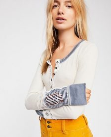 Free People Railroad Henley