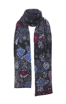 IVKO Winter Scarf 82544 Anthracite
