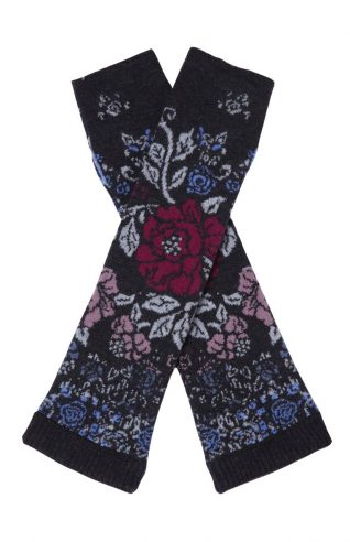 IVKO Floral Patter Wrist Warmers