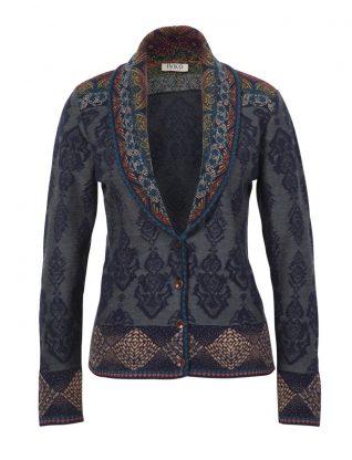 IVKO Collar Wool Jacket Geometric Fall 2018