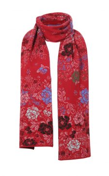 IVKO Long Winter Scarf in Red
