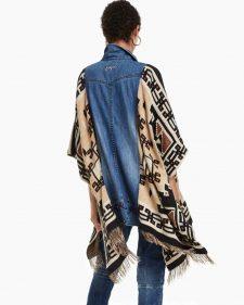 Desigual Denim Jacket Birdy One Size