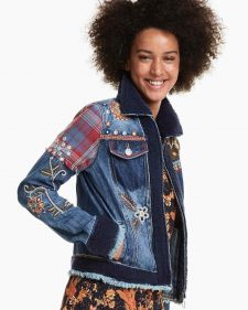 Desigual Military Denim Jacket