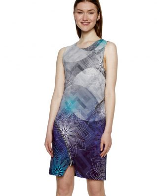 Desigual Dress Ohio with Zip Detailing