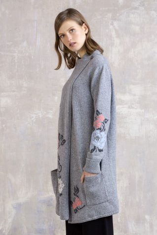 IVKO Long Wool Coat with Pockets