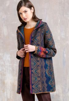 IVKO Geometric Jacket with Hood