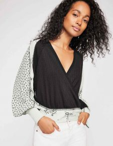 Free People Auxton Thermal Black