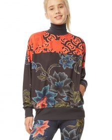 Desigual Pullover sweater Geopatch