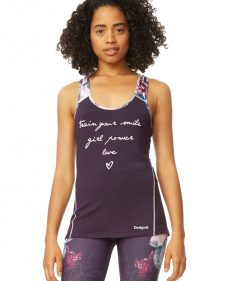 Desigual Tank Top with Writing