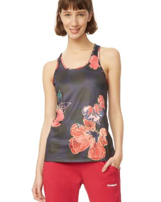 Desigual Scarlet Bloom Tank Top Sport