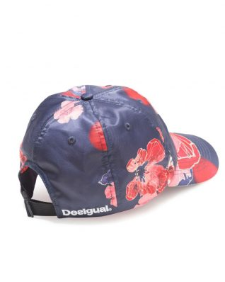 Desigual Cap Scarlet Bloom