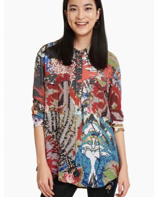 Desigual Shirt Sharon Multicolours