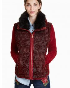 Desigual Red Winter Jacket 2018 2019