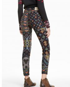 Desigual Pants Holy Green Fall Winter 2018 2019