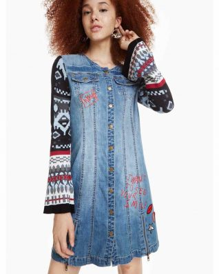 DESIGUAL DENIM DRESS NANCY FALL 2018