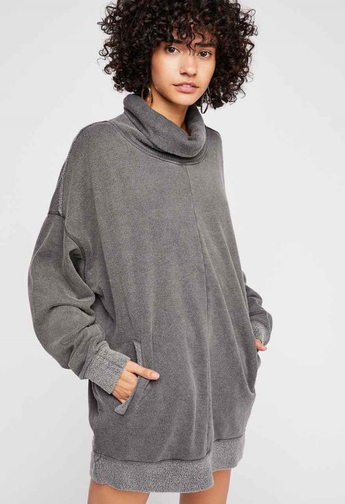 Free People Too Easy Turtle Pullover