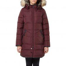 Pajar Panther Burgundy Winter Coat
