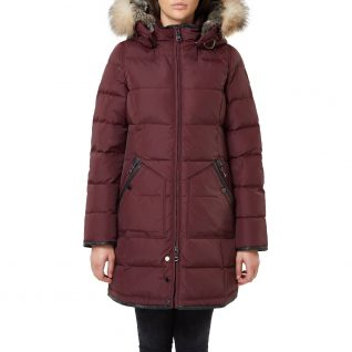 Pajar Panther Burgundy Winter Coat