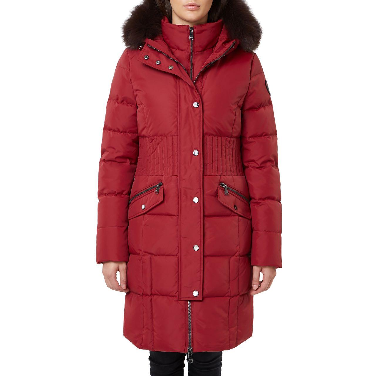 Pajar Winter Down Long Coat Parka ANNIE RED Canada USA