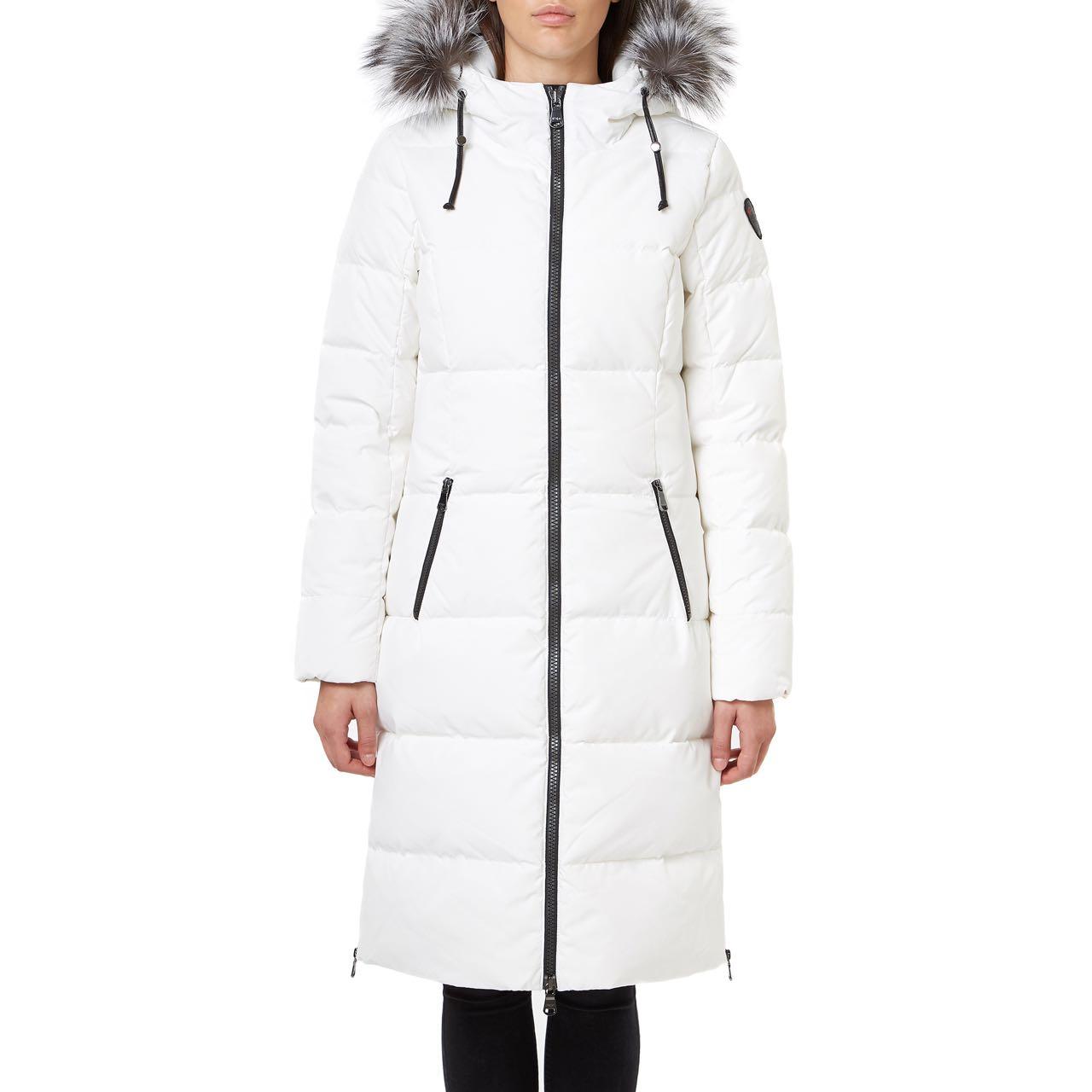 White Winter Parka
