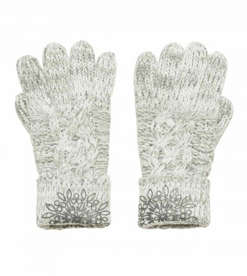 Desigual Gloves Grey