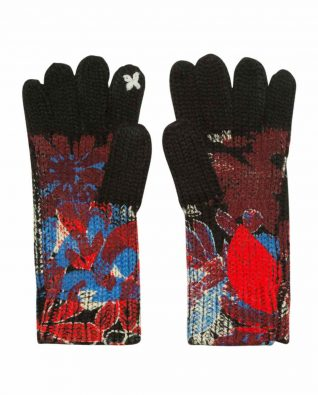 Desigual Gloves Sequinflowers