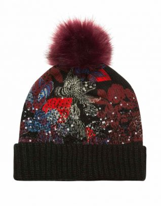 Desigual Winter Hat Sequinflowers
