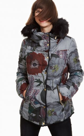 Desigual Jacket Poppy Fall 2018 Winter 2019