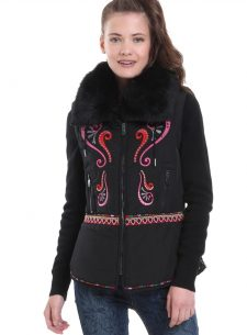 Desigua Winter Jacket with Embroidery