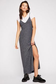 Free People Lola Maxi Dress Shiny