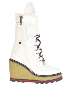 Pajar Wedge Boots Thira White