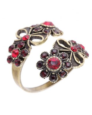 Michal negrin spiral floral ring